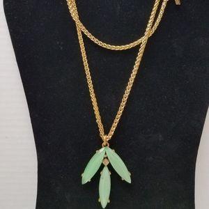 Oscar DeLaRenta gold necklace